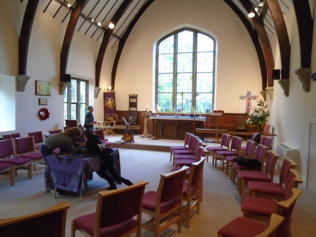 Christ Church, Darley, General interior view