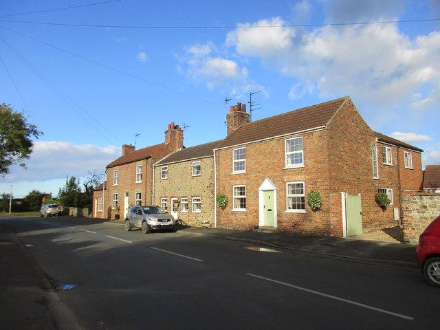 Cottages on Bridlington Road, Skipsea
