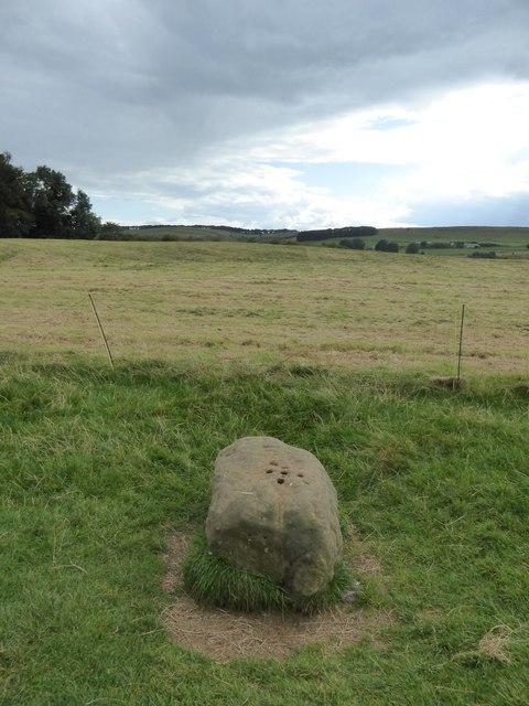 The boundary stone, Eyam