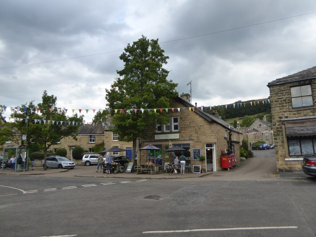 The centre of Eyam
