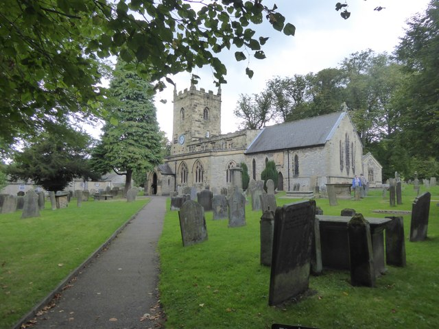 Eyam church (St Lawrence)