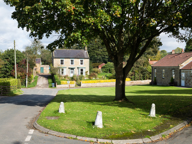 Village green at Knayton