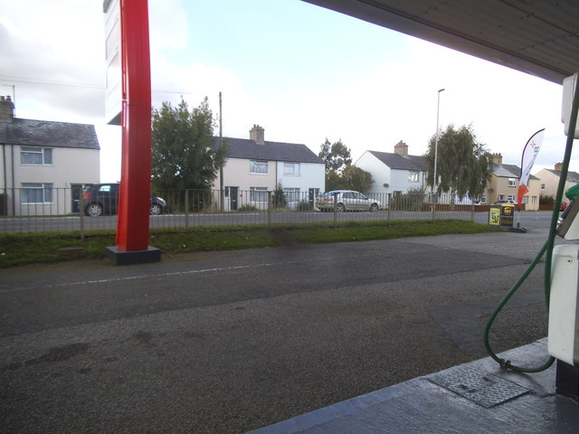 Petrol station on Cambridge Road, Stretham