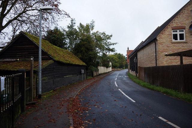 School Lane, Roxton
