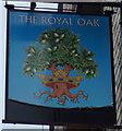 TL1554 : The Royal Oak, Roxton by Ian S