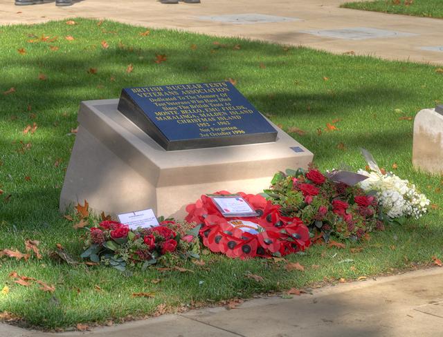 British Nuclear Test Veterans Memorial, St Peter's Square