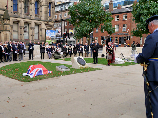 Dedication of Nuclear Test Veterans Memorial, Manchester