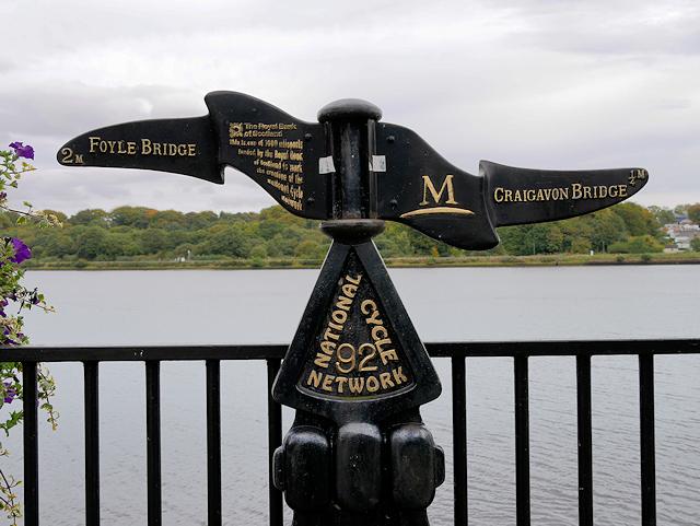 Millennium Milepost at Derry