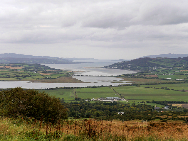 View towards Burnfoot and Lough Swilly