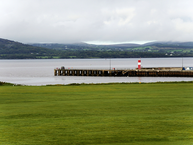 Lough Swilly Ferry Pier at Buncrana