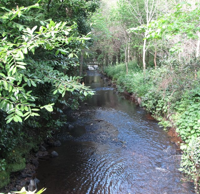 The River Ballymascanlon in the grounds of the Ballymascanlon House Hotel