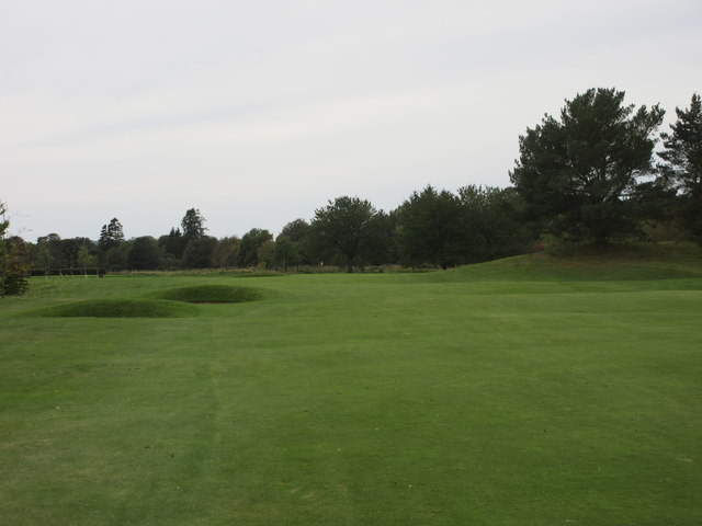 Edzell Golf Course, 13th hole, The Rashie Bog