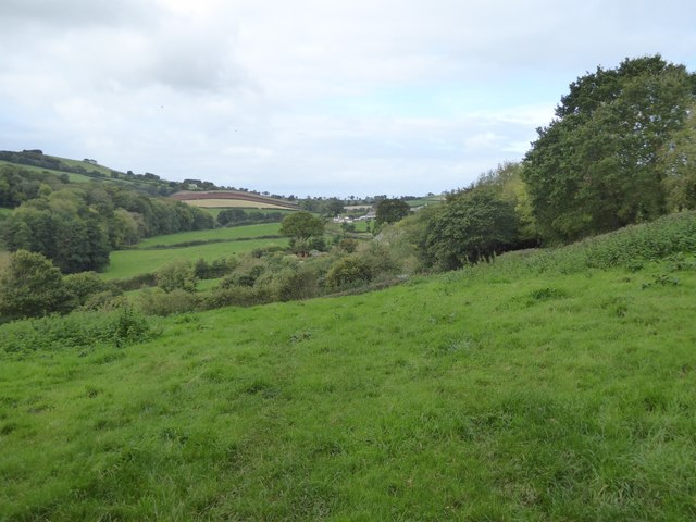Valley towards East Bowley