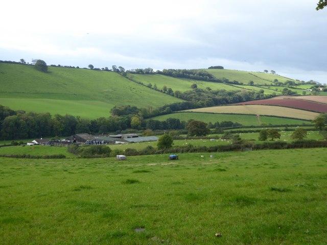 Fields between Terley and East Bowley