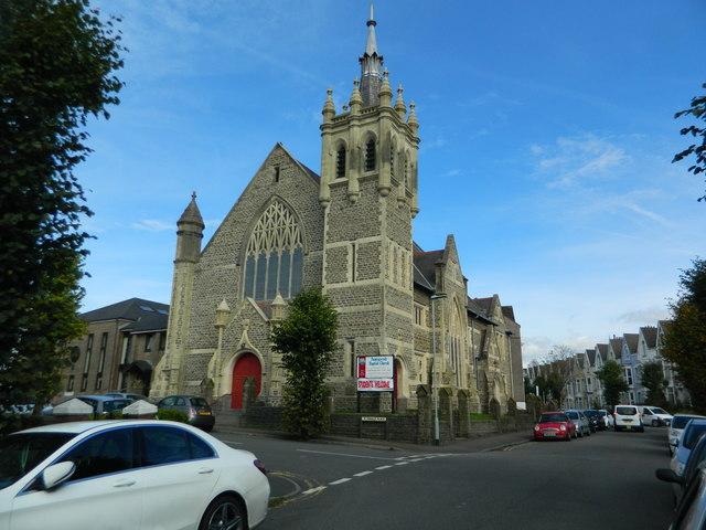 Pantygwydr Baptist Church, Uplands, Swansea