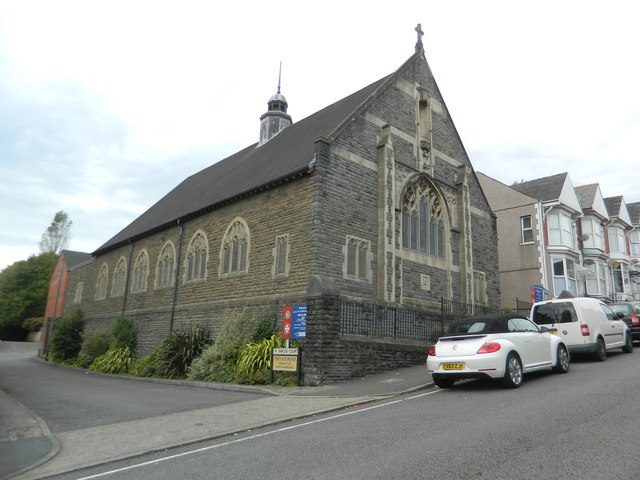 St Barnabas' Church, Uplands, Swansea