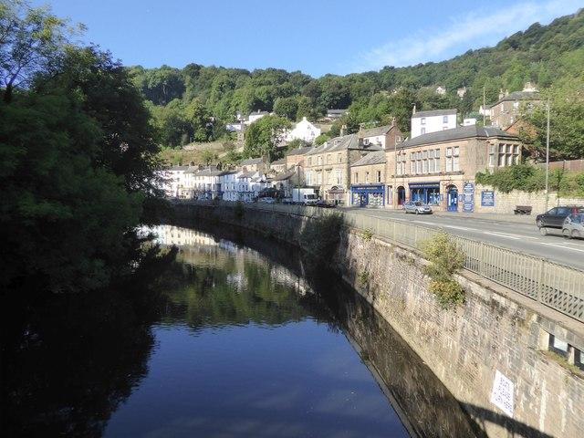 River Derwent at Matlock Bath
