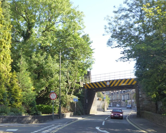 Railway bridge north of Matlock Dale