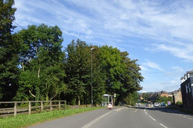 Bus shelter, Bakewell Road (A6), Matlock