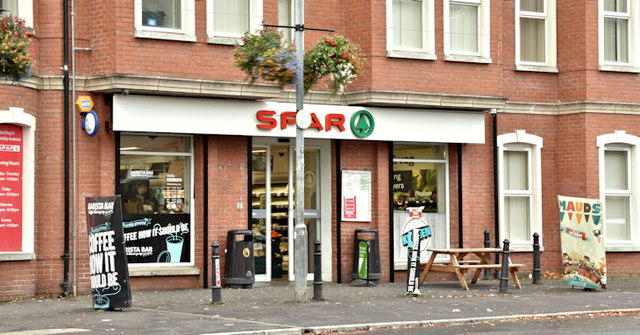 Spar, University Avenue, Belfast (October 2017)