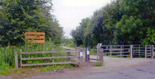 Site of Long Marston station, 2007