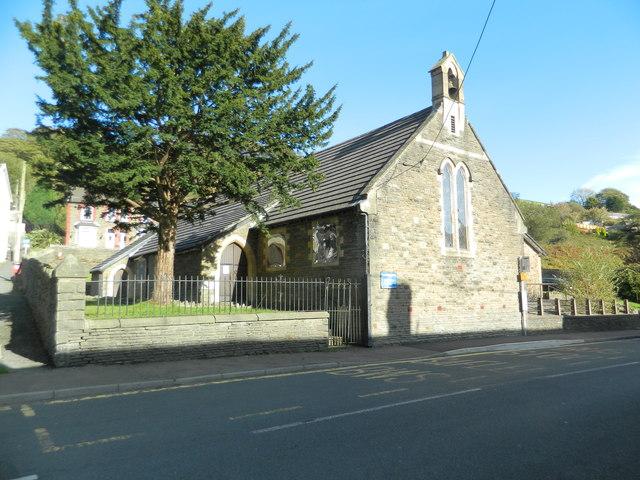 Church of St Peter & St Cenydd, Senghenydd