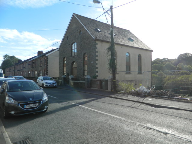 The former Seion Welsh Wesleyan chapel