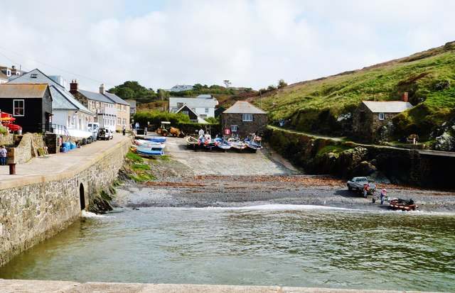 Harbour at Mullion Cove, Cornwall