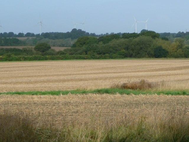 Farmland in the Avon valley