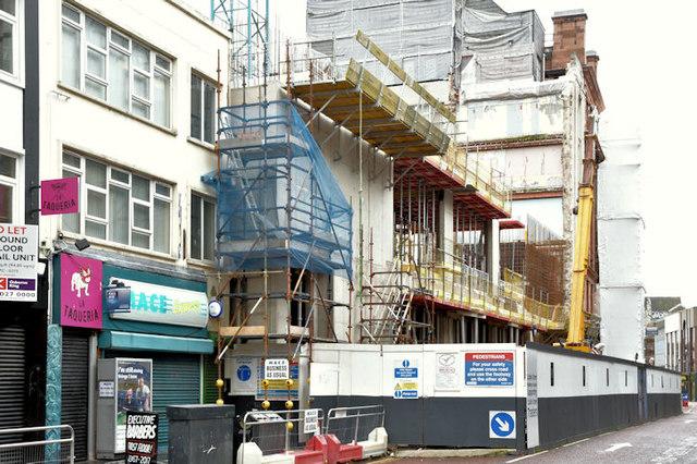Commonwealth House (redevelopment), Belfast (October 2017)