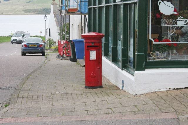 Pillar box, Forsyth Place, Cromarty
