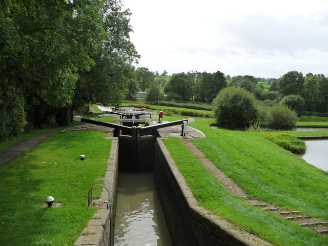 Watford staircase, Grand Union Canal [Leicester section]