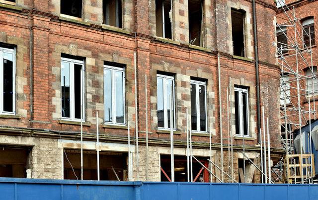The Swanston Hall site, Belfast - October 2017(1)