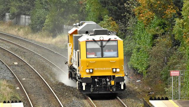NIR Sandite train, Sydenham, Belfast (October 2017)
