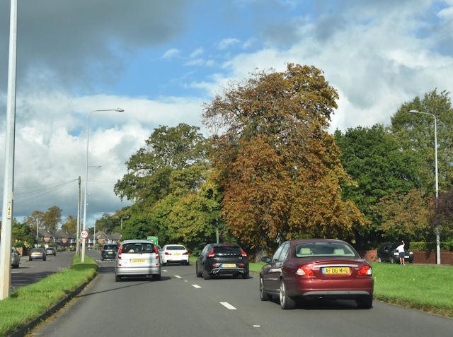 A41 at Mannings Lane
