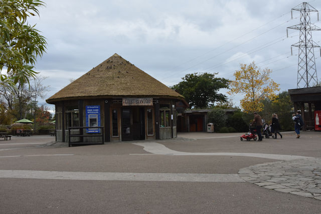 Services centre at Chester Zoo
