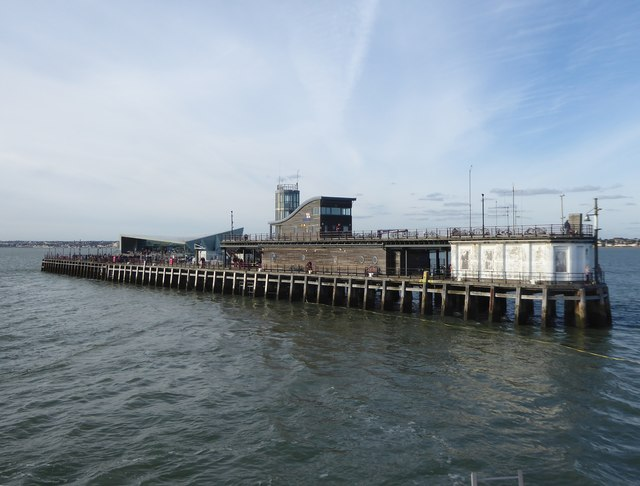 Southend Pierhead and life-boat station