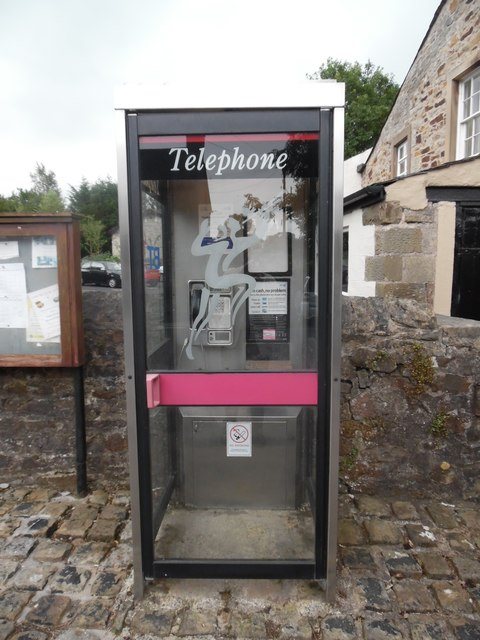 KX100 Telephone Box in Bolton-by-Bowland