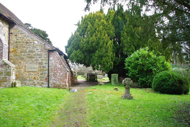 In Crowhurst churchyard