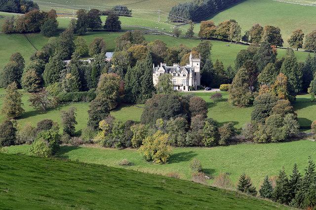 Glenmayne House near Galashiels