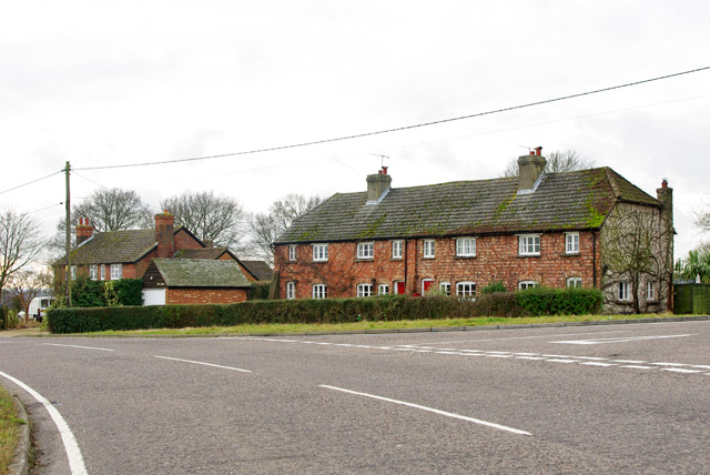 Cottages at the junction
