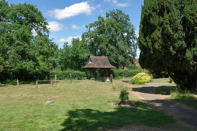 Leigh churchyard