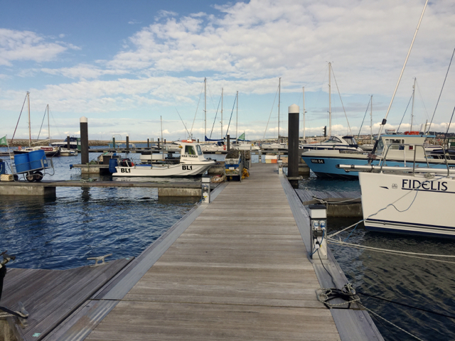 End section of Pier M, Portland Marina