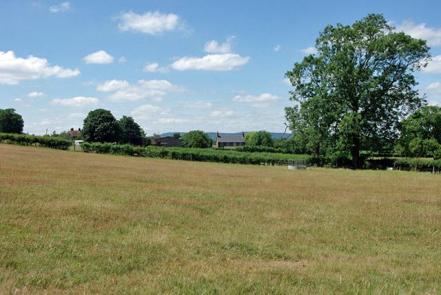 View towards Swains Farm