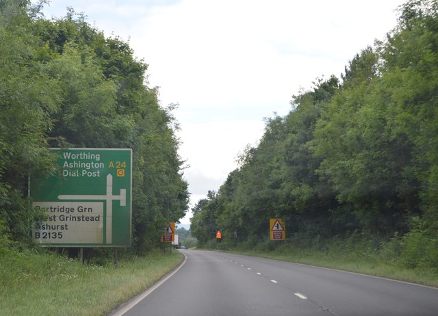 A24, southbound