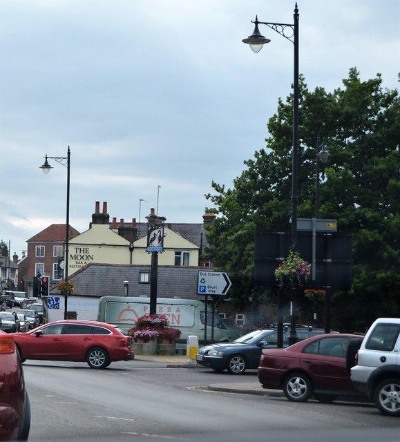 Village sign, Storrington