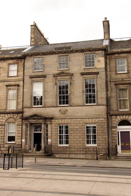 Sir Henry Raeburn's house, 32 York Place