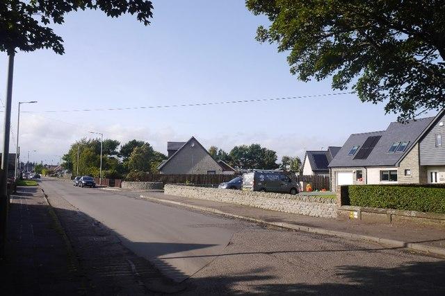 Broomfield Road, Montrose