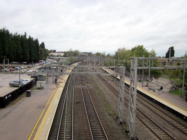 Lichfield Trent Valley Station - Low Level