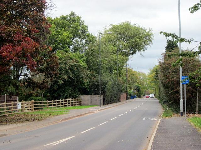 A5127 Burton Road Towards Streethay